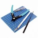 9pc Plastic Modelling Tool set (T11001)