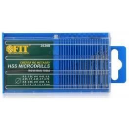 Set of drills Fit, 20 pcs. / 0.3-1.6 mm / (36360)