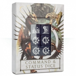AGE OF SIGMAR: COMMAND & STATUS DICE (86-80)