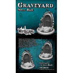 Пластиковые подставки Graveyard 50MM (WYRWS009)