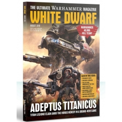 "Журнал ""Белый Дворф Август 2018 (WHITE DWARF AUGUST 2018)"" (WD08-60)"