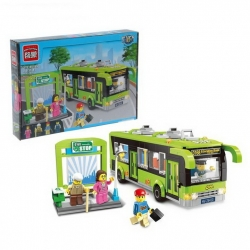 "Constructor ""City bus"", 420 parts and 4 mini-figures (1659267)"