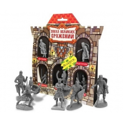 "Game set ""Crusaders"" №2, 5 figures 12059 (3399334)"