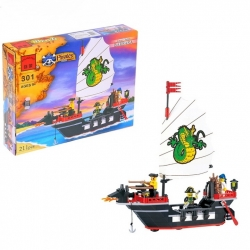 "Constructor ""Pirate ship"", 211 parts (407989)"