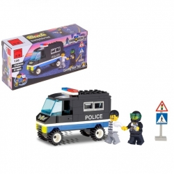 """Constructor """"Police van"""", 87 parts (407974)"""