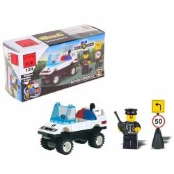 """Constructor """"Patrol car"""", 39 parts (407962)"""