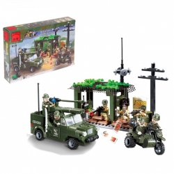 "Constructor ""Military base"", 285 parts (573735)"