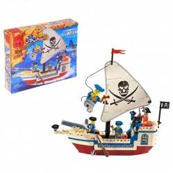 """Конструктор """"Пиратский корабль"""", 188 деталей (573750)"""