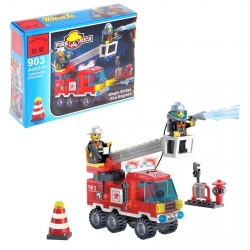 "Constructor ""Firebearers"", 130 parts and 2 pieces (619256)"