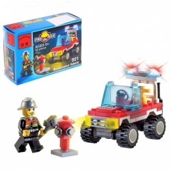 "Constructor ""Jeep of fire protection"", 62 parts (619257)"