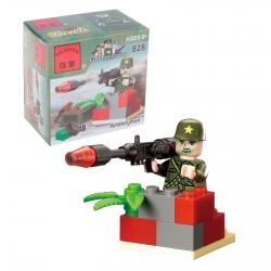 """Constructor """"Artilleryman"""", 18 parts (623936)"""