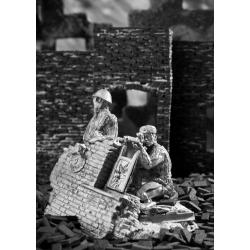 Sniper in the ruins. 1942-1943 (529)