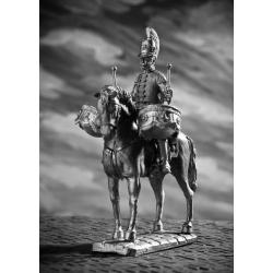 Литаврщик кавалергардского полка 1812 год (k07)