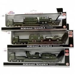 """Игровой набор ТМ Wincars """"Военная техника"""", 3 шт (3816711)"""