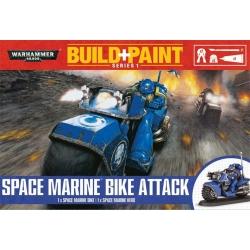 СОБЕРИ И ПОКРАСЬ Мотоцикл поддержки космодесанта (SPACE MARINE BIKE ATTACK) (20-32)