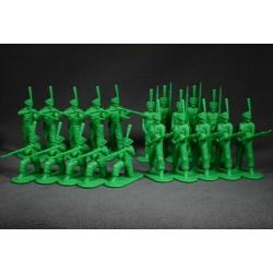 Russian grenadiers in 1812. Set №1