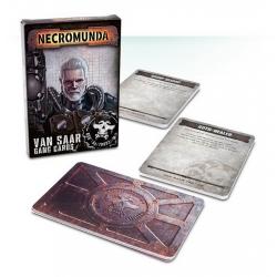 "Necromunda: Van Saar Gang Cards (Eng) (Карточки ""Некромунда: Банда Ван Саар (англ.)"") 300-18-60"