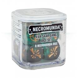 "Necromunda: Van Saar Gang Dice Set (Кубики ""Некромунда: Банда Ван Саар"") 300-17"