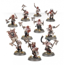"A Warhammer Age Of Sigmar: 5 Blood Warriors (Миниатюра ""Эра Сигмара: 5 Кровавых воина"")80-19-60-7"