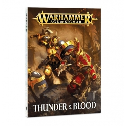 Warhammer Age of Sigmar: Thunder and Blood Rulebook (Книга правил Thunder and Blood (англ. яз.)) 80-19-60-9
