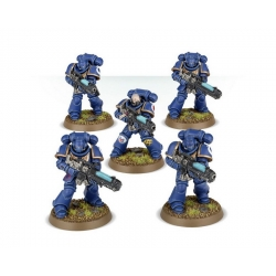 DARK IMPERIUM 5 миниатюр Primaris Space Marines Hellblasters 40-01-60-2