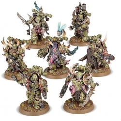 DARK IMPERIUM 7 миниатюр Death Guard Plague Marines 40-01-60-8
