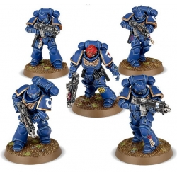 DARK IMPERIUM 5 миниатюр Primaris Space Marines Intercessors 40-01-60-1