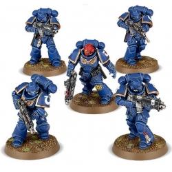 Dark Imperium 5 Primaris Space Marines Intercessors 40-01-60-1