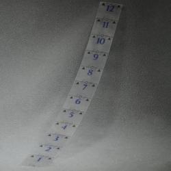 """Age of Sigmar: Transparent 12"""" range ruler (Прозрачная линейка 12 дюймов) 80-19-60-11"""