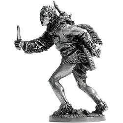 Индеец с ножом (WW-18)