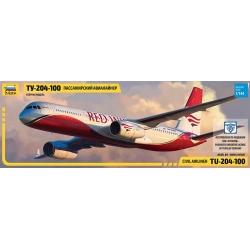 Пассажирский авиалайнер Ту-204-100 (7023)