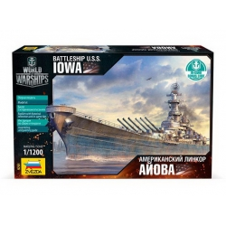 Battleship Iowa (+ Bonus code World of Warships) (9201)