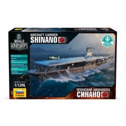 "Авиносец ""Синано"" (+Бонус код World of Warship) (9202)"