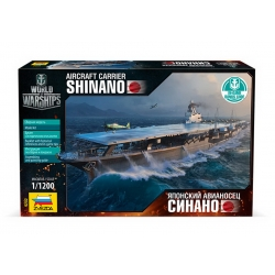 "Aircraft carrier ""Shinano"" (+ Bonus code World of Warship) (9202)"