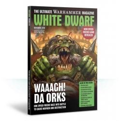 "Журнал ""Белый Дворф. Октябрь 2016 (WHITE DWARF. OCT 2016)"" (WD10-60)"
