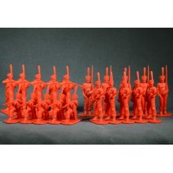 Русские гренадеры 1812 года. Набор №1 (красный)