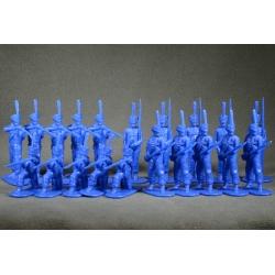 Russian grenadiers in 1812. Set №1 (blue)