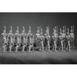Russian grenadiers in 1812. Set №1 (grey)