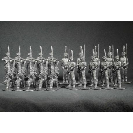 Русские гренадеры 1812 года. Набор №1 (серый)