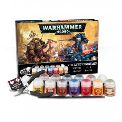 """Набор """"Комплект первой необходимости (анг.) (Warhammer 40,000 Citadel Essentials Set)"""", 60-12-60"""