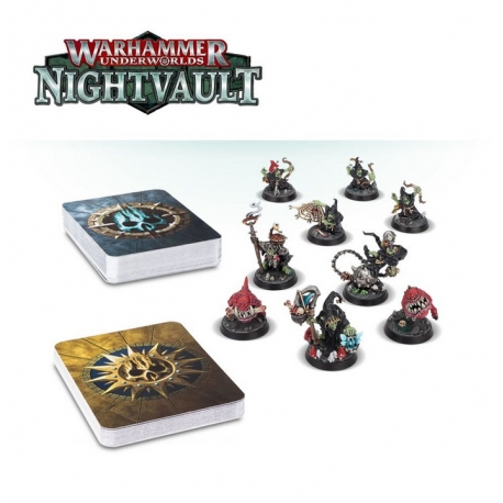 Warhammer Warhammer Underworlds: Nightvault – Zarbags Gitz (110-36-21)