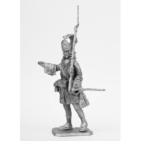 Офицер гренадерской роты Преображенского полка, 1702-1708 г.г. (564)