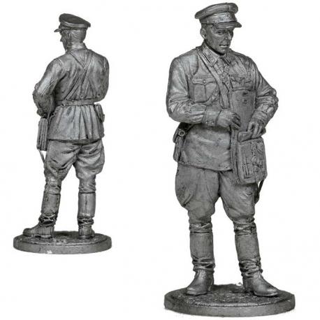 Политрук, пехота РККА. СССР, 1939-42 гг. (ww2-32)
