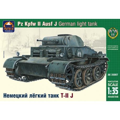 Немецкий лёгкий танк Pz.Kpfw.II Ausf.J (35007)