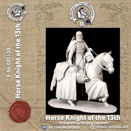 Конный рыцарь, 13 век (E-54-001)