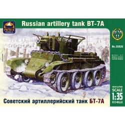 Советский артиллерийский лёгкий танк БТ-7А с 76,2-мм пушкой КТ-28 (35026)