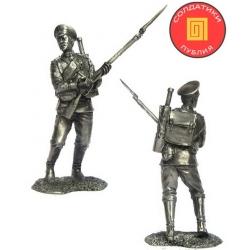 Рядовой лейб-гвардии пехотного полка. Россия, 1914 г. (PTS-5271)
