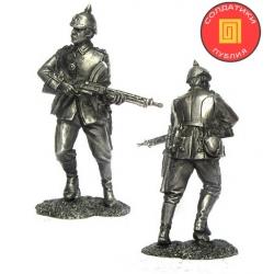 Унтер-офицер 45-го пехотного полка. Германия, 1914 г. (PTS-5275)