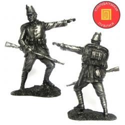 Унтер-офицер 10-го егерского полка. Германия, 1914 г. (PTS-5276)