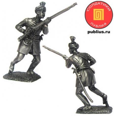 Тюфекчи-мушкетер провинциальной пехоты йерликулу, XVIII век (PTS-5298)